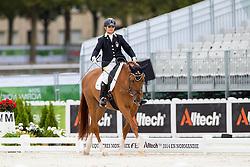 Silvia Veratti, (ITA), Zadok - Individual Test Grade Ib Para Dressage - Alltech FEI World Equestrian Games™ 2014 - Normandy, France.<br /> © Hippo Foto Team - Jon Stroud <br /> 25/06/14