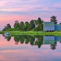 Cape Cod sunrise fine art photography at Salt Pond in Eastham, Massachusetts.