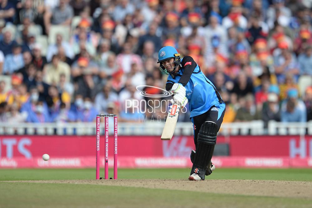 Ed Barnard of Worcestershire Rapids batting during the Vitality T20 Finals Day Semi Final 2018 match between Worcestershire Rapids and Lancashire Lightning at Edgbaston, Birmingham, United Kingdom on 15 September 2018.