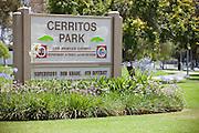 Cerritos Park Los Angels County