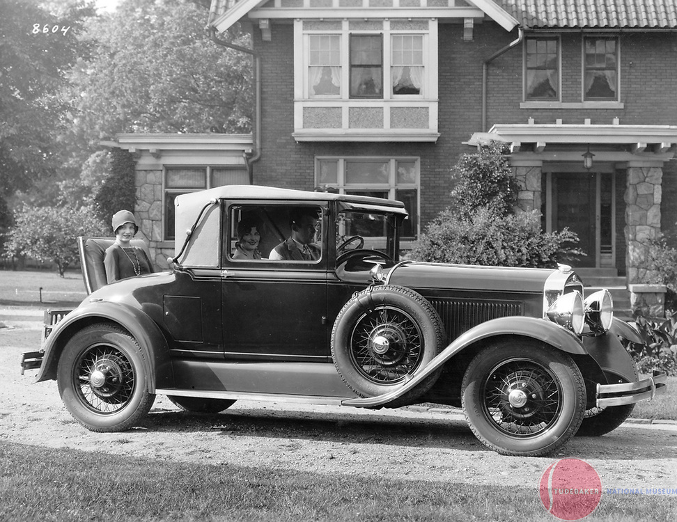 1929 Studebaker President Cabriolet