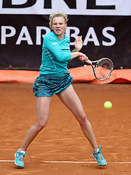 May 13, 2019 - Rome, Italy - Katerina Siniakova (CZE) during the WTA Internazionali d'Italia BNL first round match at Foro Italico in Rome, Italy on May 13, 2019. (Credit Image: © Matteo Ciambelli/NurPhoto via ZUMA Press)