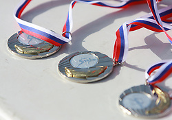 Medals at 23rd International Meeting Brezice 2008, on September 10, 2008, Brezice, Slovenia.   (Photo by Vid Ponikvar / Sportal Images).