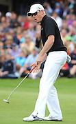 31-07-11: England's Simon Dyson, winner of  the Irish Open, after he took his final shot   at Killarney Golf and Fishing Club on Sunday. Picture: Eamonn Keogh (MacMonagle, Killarney)