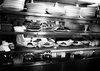 In the heat of Restaurant Eighteen's kitchen Executive Chef Matthew Carmichael is in his element.