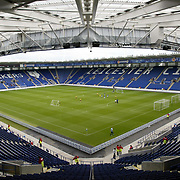 Walkers Stadium new home of  Leicester City