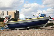 Fishing boats, Sizewell beach, Suffolk, England