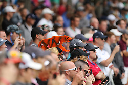 May 30, 2019 - Dublin, OH, U.S. - DUBLIN, OH - MAY 30: A fan wears a tiger hat during the first round of The Memorial Tournament on May 30th 2019  at Muirfield Village Golf Club in Dublin, OH. (Photo by Ian Johnson/Icon Sportswire) (Credit Image: © Ian Johnson/Icon SMI via ZUMA Press)