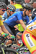 Women Road Race 129,4 km, Giorgia Brondini (Italy) during the Road Cycling European Championships Glasgow 2018, in Glasgow City Centre and metropolitan areas Great Britain, Day 4, on August 5, 2018 - Photo Laurent lairys / ProSportsImages / DPPI