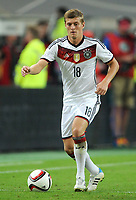 Fotball<br /> Tyskland v Argentina<br /> Privatlandskamp<br /> 03.09.2014<br /> Foto: Witters/Digitalsport<br /> NORWAY ONLY<br /> <br /> Toni Kroos (Deutschland)<br /> Fussball, Testspiel, Deutschland - Argentinien 2:4