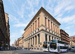 View of Bank of Scotland building on St Vincent Street in central Glasgow ,Scotland, united kingdom