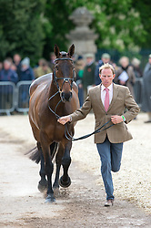 Owen Michael, (GBR), The Highland Prince<br /> First Horse Inspection - Mitsubishi Motors Badminton Horse Trials <br /> Badminton 2015