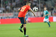 Jordi Alba (Spain) during the International Friendly Game football match between Germany and Spain on march 23, 2018 at Esprit-Arena in Dusseldorf, Germany - Photo Laurent Lairys / ProSportsImages / DPPI