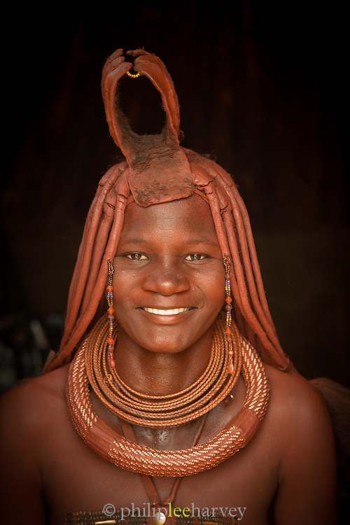 Woman of the Himba Tribe, Kunene Region, Northern Namibia, Southern Africa