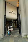 Entrance to Galleriet shopping centre mall,  Bergen, Norway