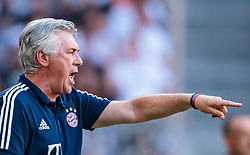 02.08.2017, Allianz Arena, Muenchen, GER, Audi Cup, FC Bayern Muenchen vs SSC Neapel, Spiel um Platz 3, im Bild Trainer Carlo Ancelotti (FC Bayern Muenchen) // during the Audi Cup 3rd place Match between FC Bayern Munich  and SSC Napoli at the Allianz Arena, Munich, Germany on 2017/08/02. EXPA Pictures © 2017, PhotoCredit: EXPA/ JFK