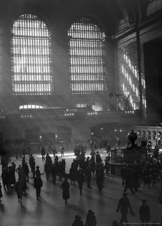 Grand Central Station, New York City, 1921