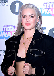 Anne-Marie attending BBC Radio 1's Teen Awards, at the SSE Arena, Wembley, London.