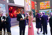 NICOLE HUMMEL; KLAAS HUMMEL, Triennial Summer Ball, Royal Academy. Piccadilly. London. 20 June 2011. <br /> <br />  , -DO NOT ARCHIVE-© Copyright Photograph by Dafydd Jones. 248 Clapham Rd. London SW9 0PZ. Tel 0207 820 0771. www.dafjones.com.