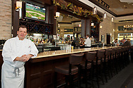 Paul Wahlberg photographed at his restaurant Alma Nove for an annual report. Wahlburgers