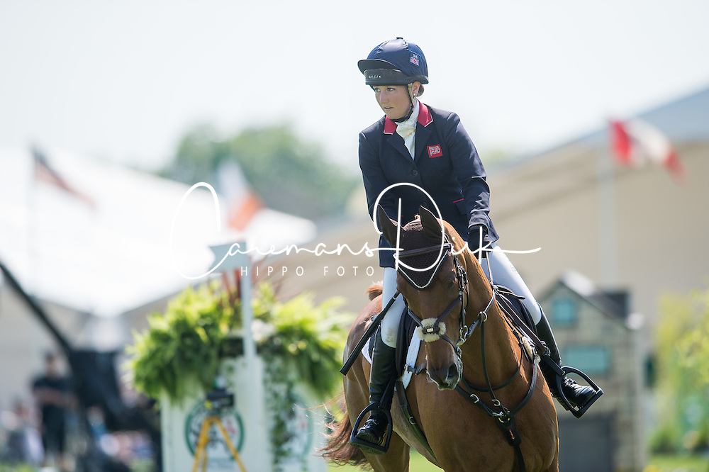 Collett Laura, (GBR), Grand Manoeuvre<br /> CCI4* - Mitsubishi Motors Badminton Horse Trials 2016<br /> © Hippo Foto - Jon Stroud