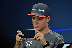 October 6, 2017 - Suzuka, Japan - Stoffel Vandoorne, McLaren Honda, formula 1 GP, Japan in Suzuka, 06.10.2017.Photo:mspb/Jerry Andre.Credit: Melzer/face to face (Credit Image: © face to face via ZUMA Press)