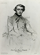 'Alexis-Charles-Henri Clérel de Tocqueville (1805-1859)   French political thinker and historian best known for his ''Democracy in America'',  1835 to 1840..'