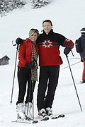 Fotosessie met de koninklijke familie in Lech /// Photoshoot with the Dutch royal family in Lech .<br /> <br /> Op de foto / On the photo:  Prins Constantijn, Prinses Laurentien ,///// Prince Constantijn, Prinsess Laurentien