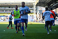 Crystal Palace #10 Andros Townsend   wearing t shirts showing support to Selhurst Park redevelopment during the Premier League match between Crystal Palace and Tottenham Hotspur at Selhurst Park, London, England on 25 February 2018. Picture by Sebastian Frej.