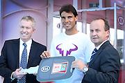 Rafa Nadal launches the Australian Open, Melbourne Park