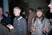 CHARLOTTE DERBYSHIRE; MELISSA FRANKLIN. Altermodern, Tate Triennial 2009, Tate Britain. London. 2 February 2009 *** Local Caption *** -DO NOT ARCHIVE-© Copyright Photograph by Dafydd Jones. 248 Clapham Rd. London SW9 0PZ. Tel 0207 820 0771. www.dafjones.com.<br /> CHARLOTTE DERBYSHIRE; MELISSA FRANKLIN. Altermodern, Tate Triennial 2009, Tate Britain. London. 2 February 2009