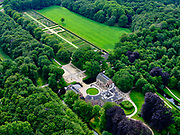 Nederland, Utrecht, Baarn, 21–06-2020; Kasteel Groeneveld, kasteel en landgoed, in gebruik als 'Buitenplaats voor stad en land' van Staatsbosbeheer.<br /> Castle Groeneveld, castle and estate. In use as 'country seat for town and country'.<br /> luchtfoto (toeslag op standaard tarieven);<br /> aerial photo (additional fee required)<br /> copyright © 2020 foto/photo Siebe Swart