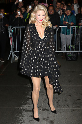 Christie Brinkley attends the Harper's Bazaar 150th Anniversary event at the Rainbow Room in New York City.
