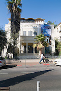 Israel, Tel Aviv, Rothschild Boulevard, Golomb House, The Hagana Museum, exhibits the history of the forming of the state of Israel and the war of independence period