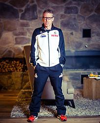 30.07.2014, Grand Tirolia, Kitzbühel, AUT, Peter Stöger im Portrait, im Bild der Trainer des 1. FC Köln, Peter Stöger während eines Interview // the Headcoach of the German Bundesliga Club 1. FC Köln, Peter Stöger during a Interview at the Grand Tirolia, Kitzbühel, Austria on 2014/07/30. EXPA Pictures © 2014, PhotoCredit: EXPA/ JFK