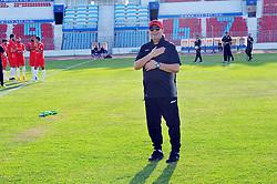 June 4, 2018 - Tunis, Tunisia - Nabil Maaloul coach of the Tunisian team....Training of the Tunisian national team at El Menzah stadium before his departure to Russia to participate in the FIFA 2018 World Cup. (Credit Image: © Chokri Mahjoub via ZUMA Wire)