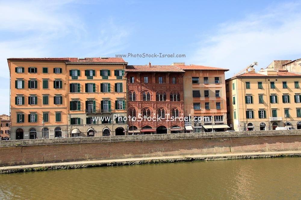 Arno River, Pisa, Tuscany, Italy