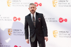 © Licensed to London News Pictures. 13/05/2018. London, UK. MARTIN FREEMAN arrives for the Virgin TV British Academy (BAFTA) Television Awards. Photo credit: Ray Tang/LNP