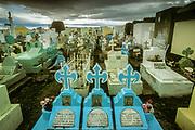 Catholic cemetery, Puerto Natales, Patagonia, Chile