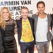 NLD/Amsterdam/20161021 - Armin van Buuren Live at the Van Gogh Museum, Armin en partner Erika van Thiel, Axel Ruger (directeur van Gogh museum), Allen Hardenberg (CEO Alda) en Adriaan Dönzelmann (zakelijk directeur van Gogh museum)