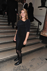 TRACEY EMIN at a private view to celebrate the opening of the Royal Academy's exhibition of work by David Hockney held at The Royal Academy, Burlington House, Piccadilly, London on 17th January 2012.