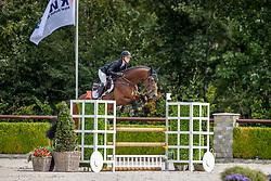 Leeuwen Tonny, NED, Legend D<br /> Nationaal Kampioenschap KWPN<br /> 4 jarigen springen final<br /> Stal Tops - Valkenswaard 2020<br /> © Hippo Foto - Dirk Caremans<br /> 19/08/2020