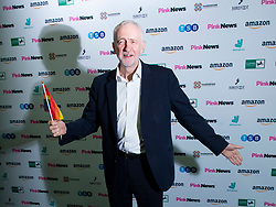 Pink News Awards 2019 <br /> At Church House, London, Great Britain <br /> 16th October 2019 <br /> <br />  Jeremy Corbyn MP<br /> Leader of the Labour Party <br /> <br /> <br /> Photograph by Elliott Franks
