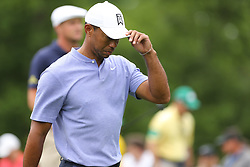 May 30, 2019 - Dublin, OH, U.S. - DUBLIN, OH - MAY 30: Tiger Woods walks off of the ninth tee box during the first round of The Memorial Tournament on May 30th 2019  at Muirfield Village Golf Club in Dublin, OH. (Photo by Ian Johnson/Icon Sportswire) (Credit Image: © Ian Johnson/Icon SMI via ZUMA Press)