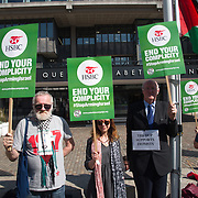 HSBC AGM Protest - Stop Arming Israel