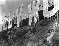 1923 Hollywoodland sign just after completion
