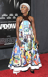 Twentieth Century Fox screening of Windows on November 11, 2018 at the Brooklyn Academy of Music in Brooklyn, New York. CAP/MPI/JP ©JP/MPI/Capital Pictures. 11 Nov 2018 Pictured: Cynthia Erivo. Photo credit: JP/MPI/Capital Pictures / MEGA TheMegaAgency.com +1 888 505 6342