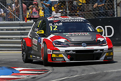 June 23, 2018 - Vila Real, Vila Real, Portugal - Rob Huff from Great Britain in Volkswagen Golf GTI TCR of Sebastien Loeb Racing during the Race 1 of FIA WTCR 2018 World Touring Car Cup Race of Portugal, Vila Real, June 23, 2018. (Credit Image: © Dpi/NurPhoto via ZUMA Press)