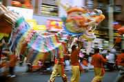 Chinatown, Dragon Dance, Manhattan, New York
