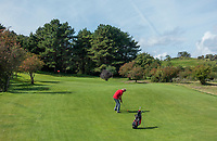 ZANDVOORT - hole 5. Golfbaan The Dunes / Open Golf.    COPYRIGHT KOEN SUYK